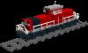 Rangierlok Baureihe 294 der DB