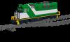 "EMD GP59 ""GO Transit"""