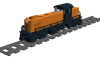Alco RS1 Road Switcher der New Haven Railroad
