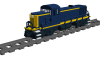 """Alco RS3 Road Switcher """"A.T.& S.F."""""""