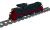 """Alco RS1 Road Switcher """"Long Island"""""""