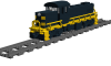 """Alco RS1 Road Switcher """"Frisco"""""""