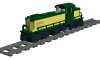"""Alco RS1 Road Switcher """"C&NW"""""""