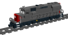 "EMD GP40X ""Southern Pacific"""