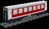 """Personenwagen 2 Klasse """"Deutsche Bahn"""""""