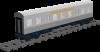 """Silberling 1. und 2.Klasse """"Deutsche Bahn"""""""